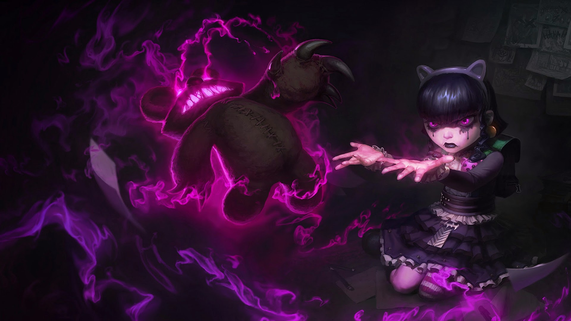 league of legends wallpaper 1920x1080 jinx