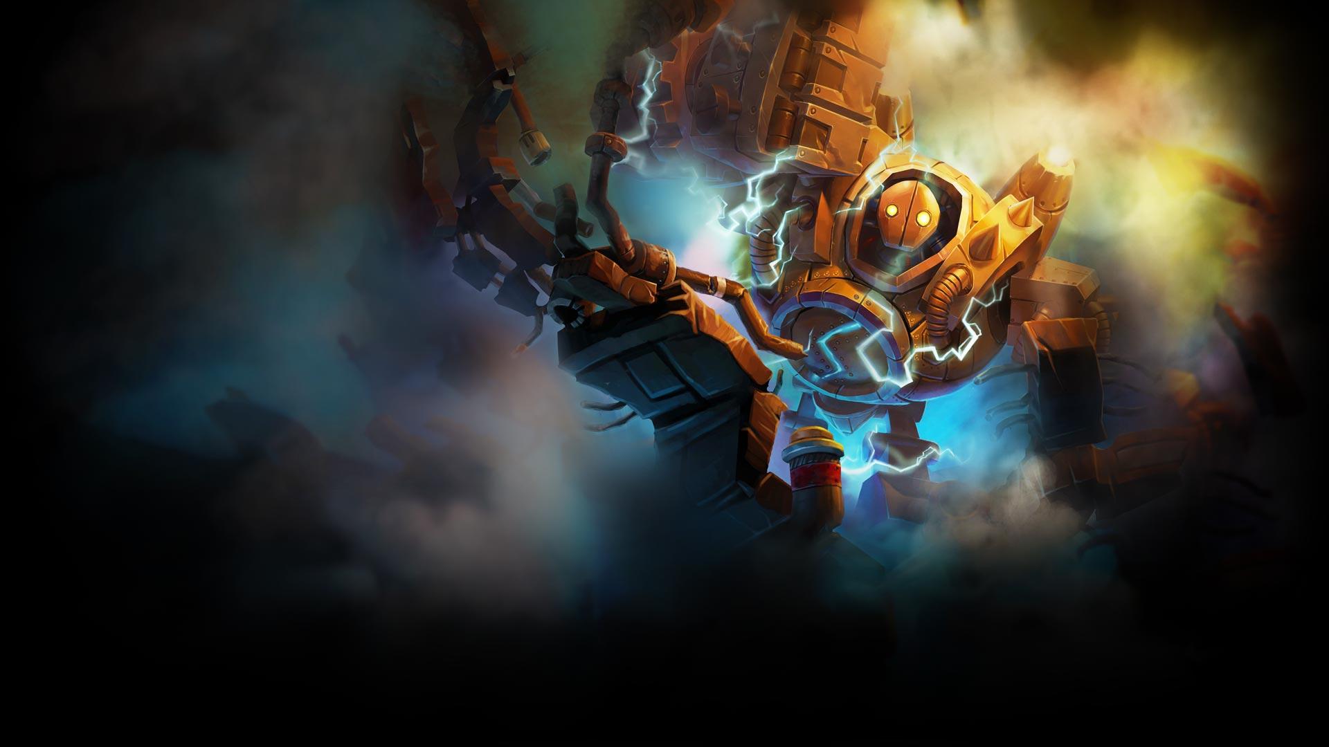 Blitzcrank Artwork - League of Legends Wallpapers