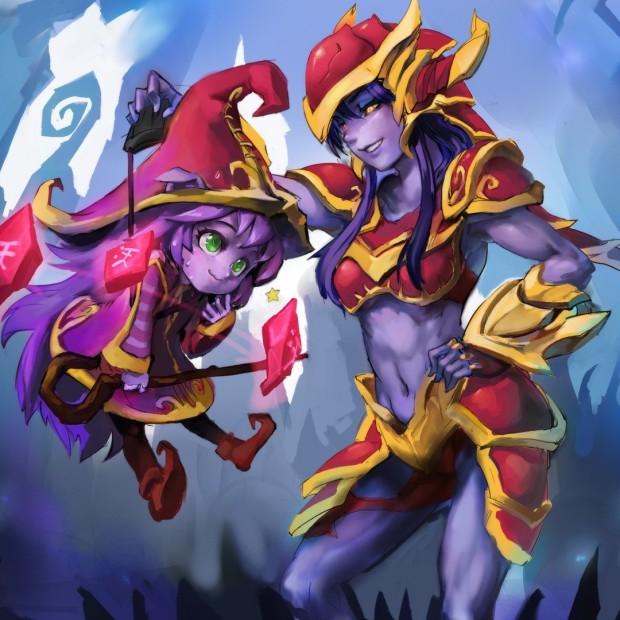 Lulu & Shyvana