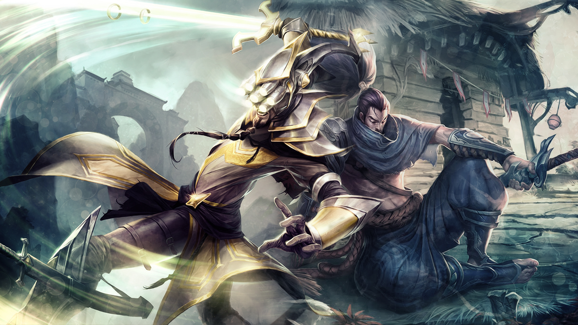 master yi vs yasuo - photo #1