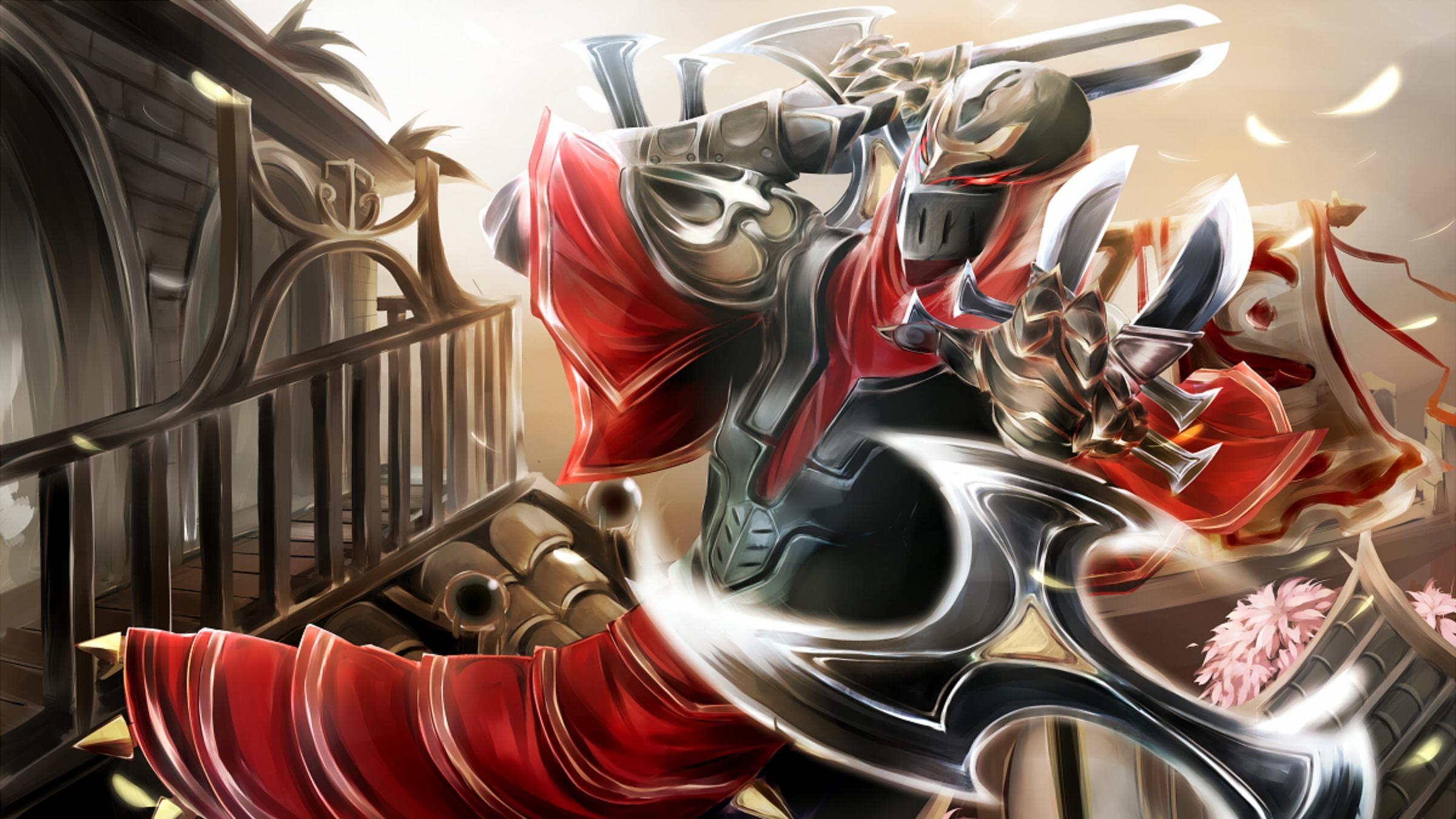 Zed Fan Art - League of Legends Wallpapers