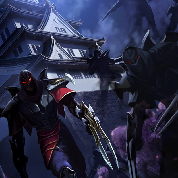 Zed – The Master of Shadows Artwork