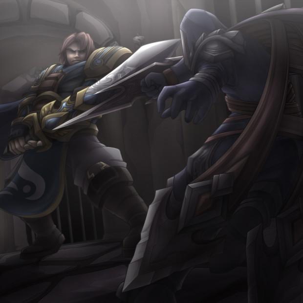 Garen vs Talon