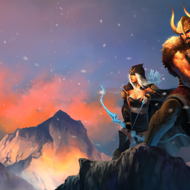 Ashe & Tryndamere