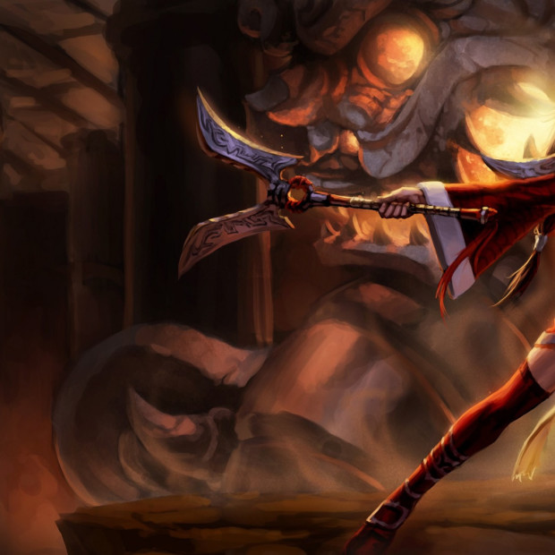 Blood Moon Akali Original