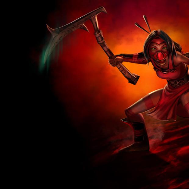 Crimson Akali