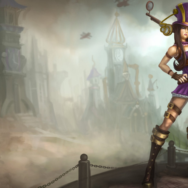 Caitlyn Old Classic Skin
