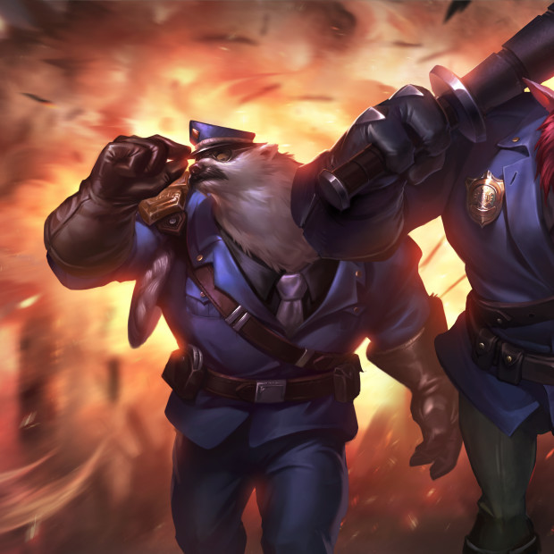 Captain Volibear & Constable Trundle