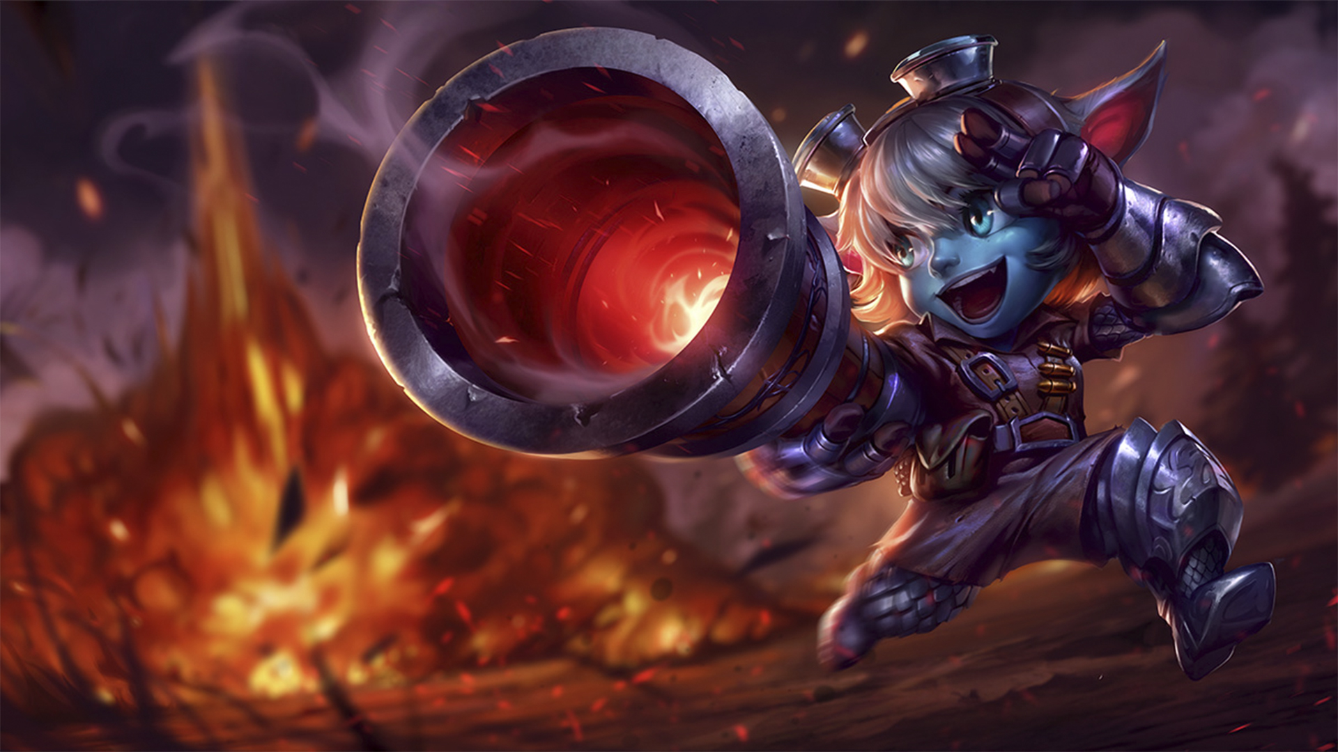 Tristana Old Classic Skin - League of Legends Wallpapers Orianna Splash Art