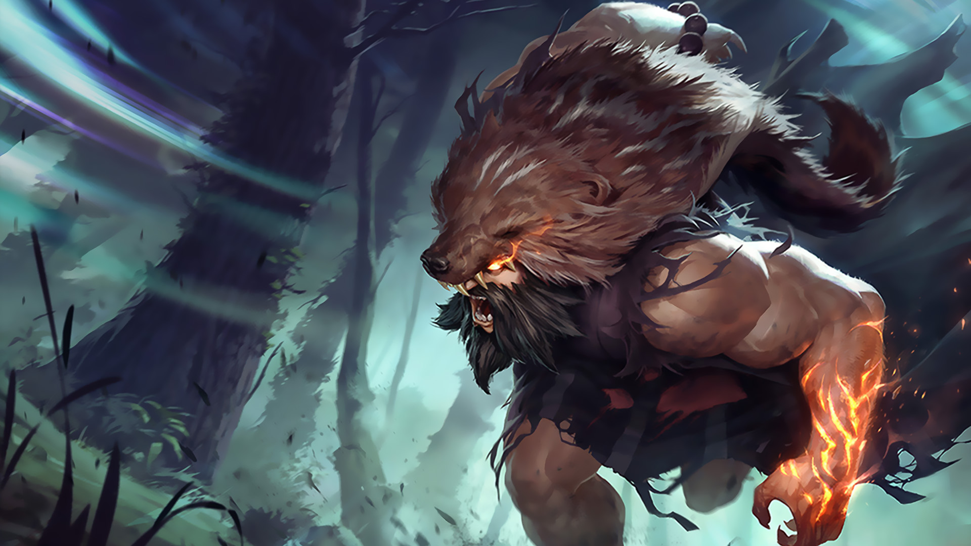 udyr classic skin league of legends wallpapers