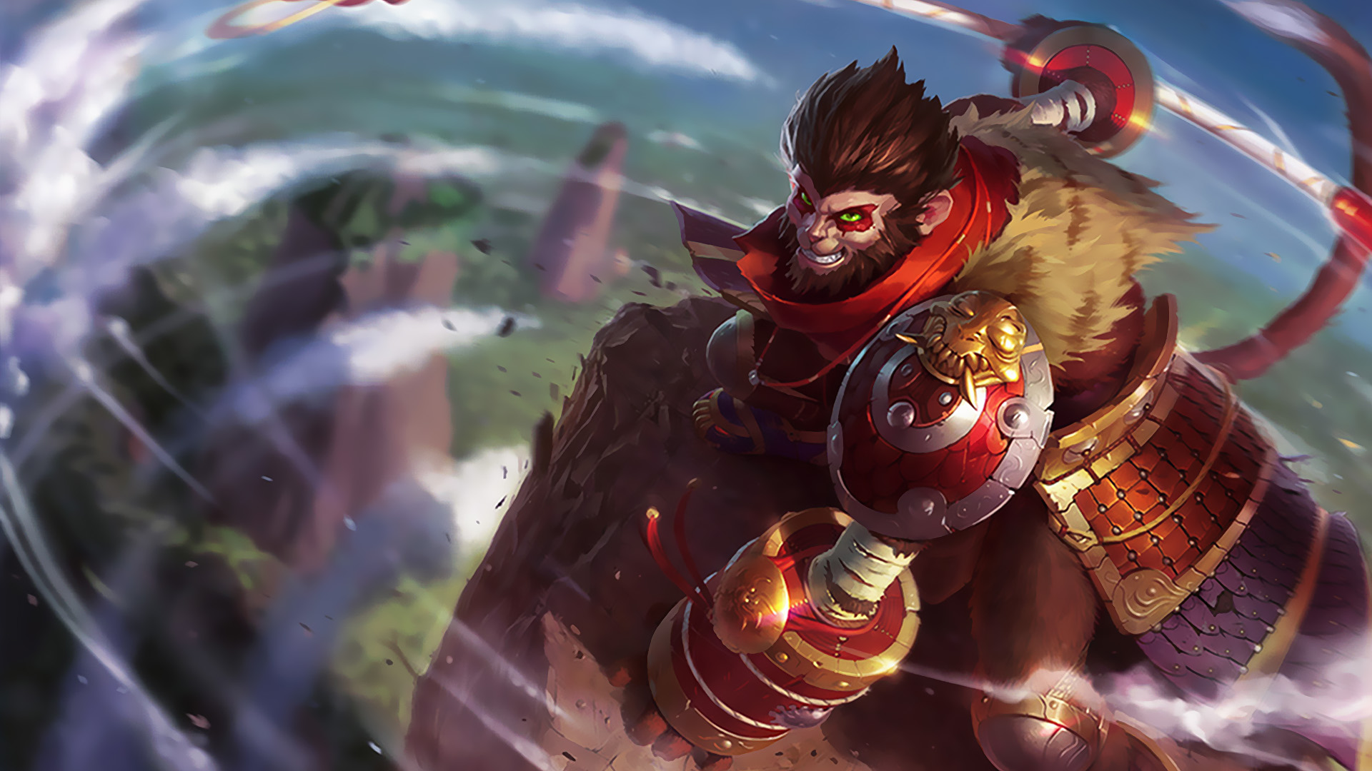 wukong classic skin league of legends wallpapers