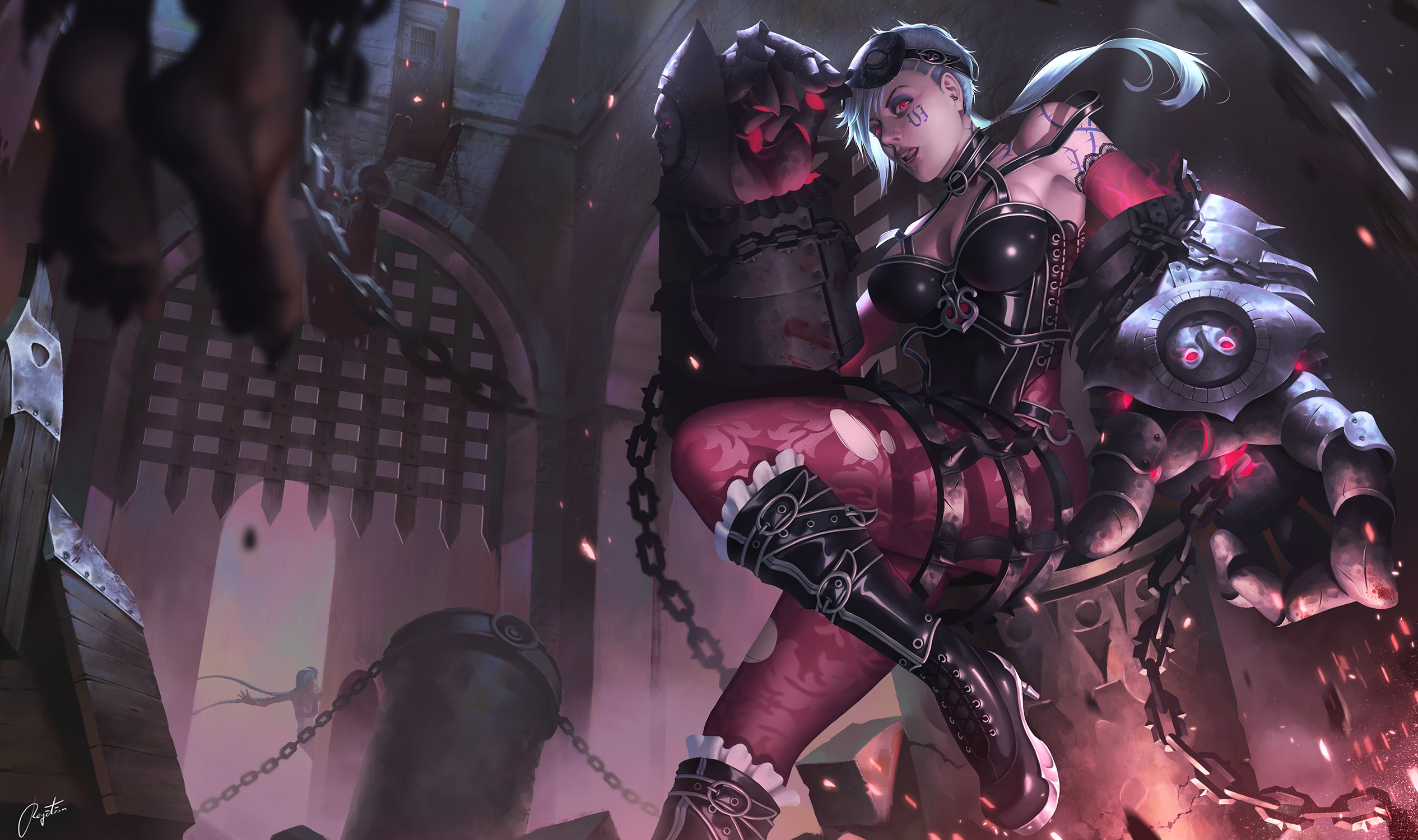 Executioner Vi Fan Art - League of Legends Wallpapers