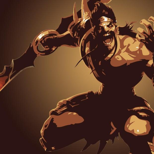 Gladiator Draven Minimalistic