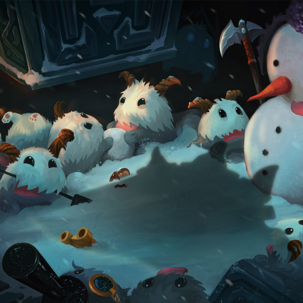 League of Legends Poros