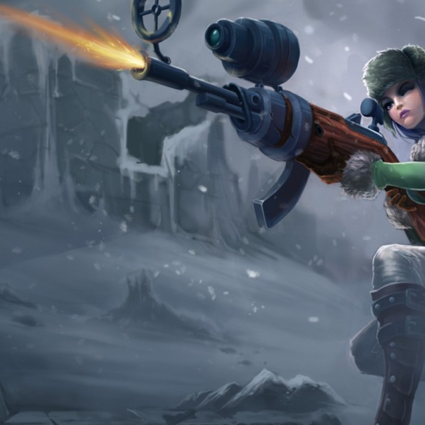 Arctic Warfare Caitlyn Old Skin
