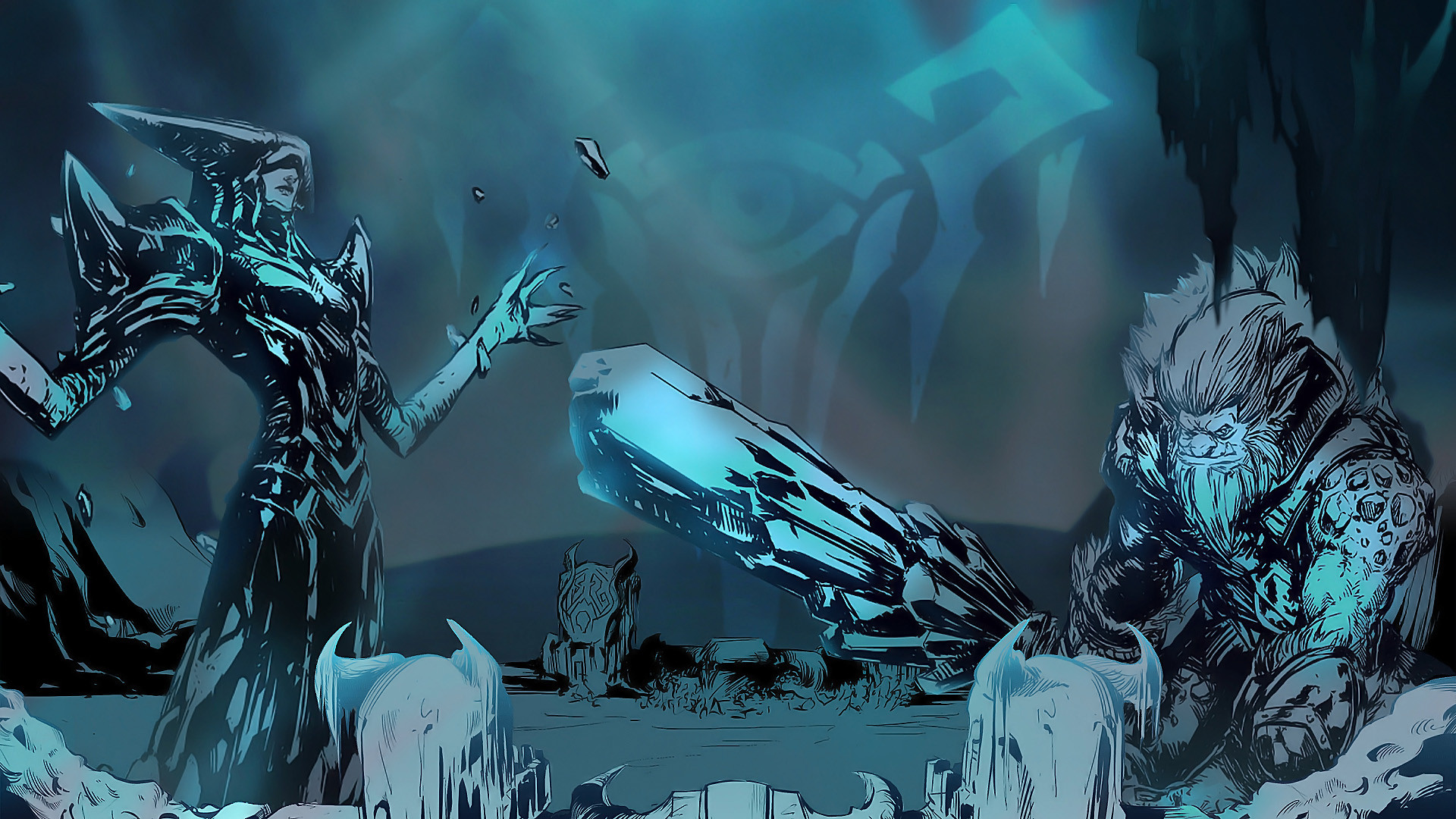 Lissandra & Trundle Fan Art - League of Legends Wallpapers