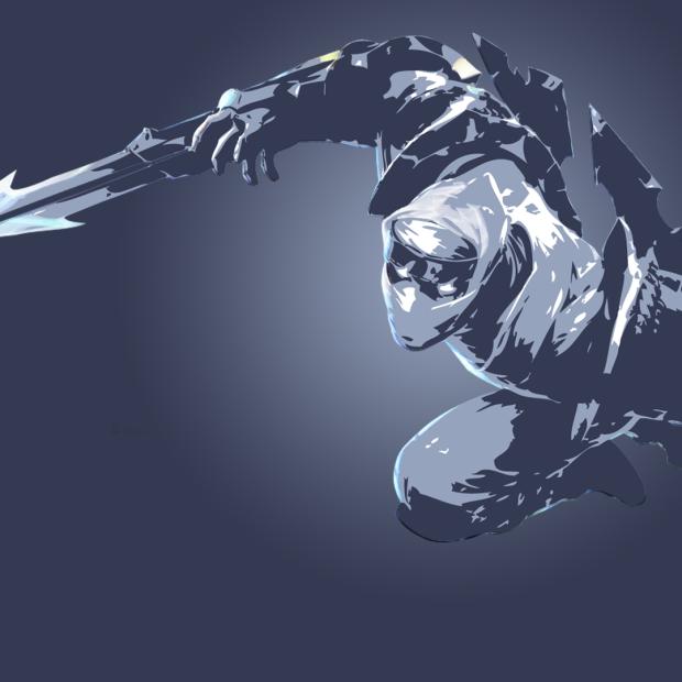 Shockblade Zed Minimalistic