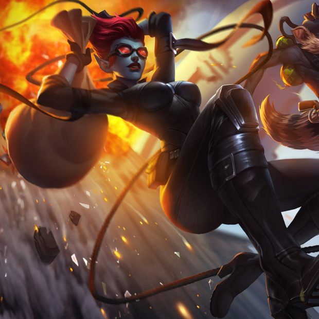 Safecracker Evelynn & Pickpocket Twitch