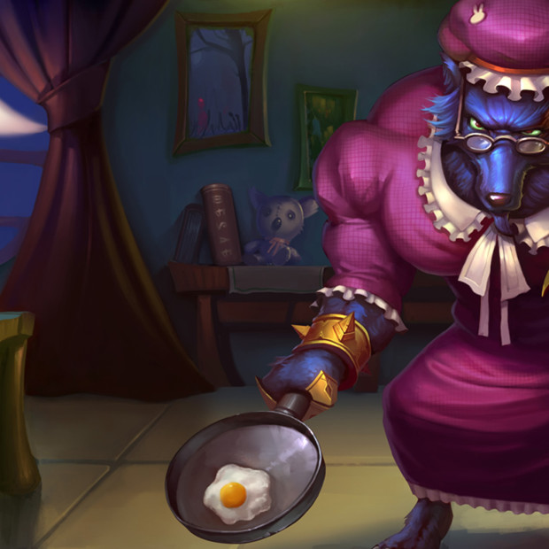 Big Bad Warwick Chinese Skin