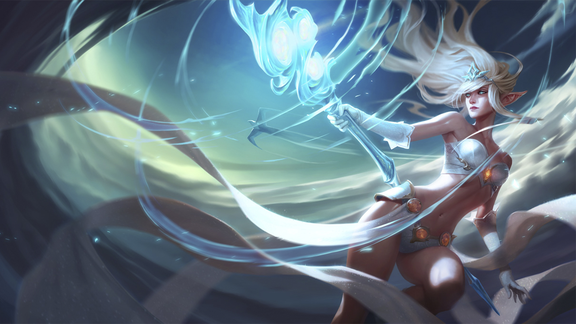 Janna Classic Skin  League Of Legends Wallpapers