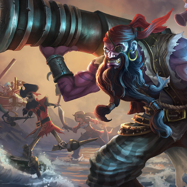 Pirate Ryze Old Skin