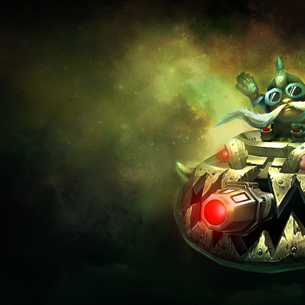 UFO Corki Old Splash Art
