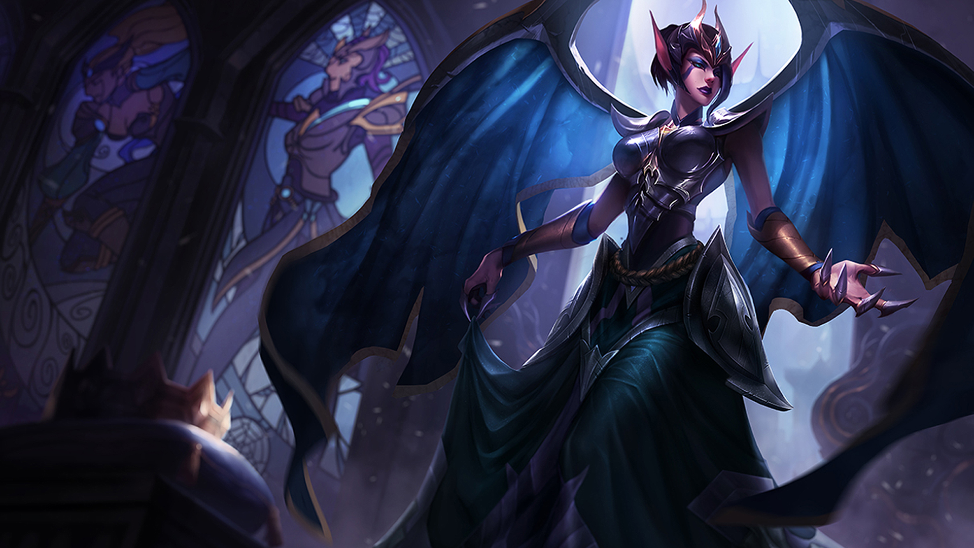 Teaser - Victorious Morgana Skin (Incomplete) - League of Legends
