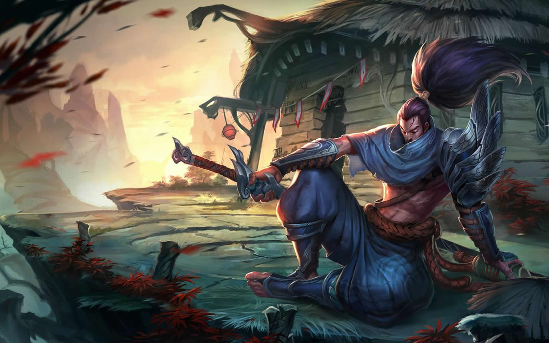 League of Legends Yasuo Wallpapers