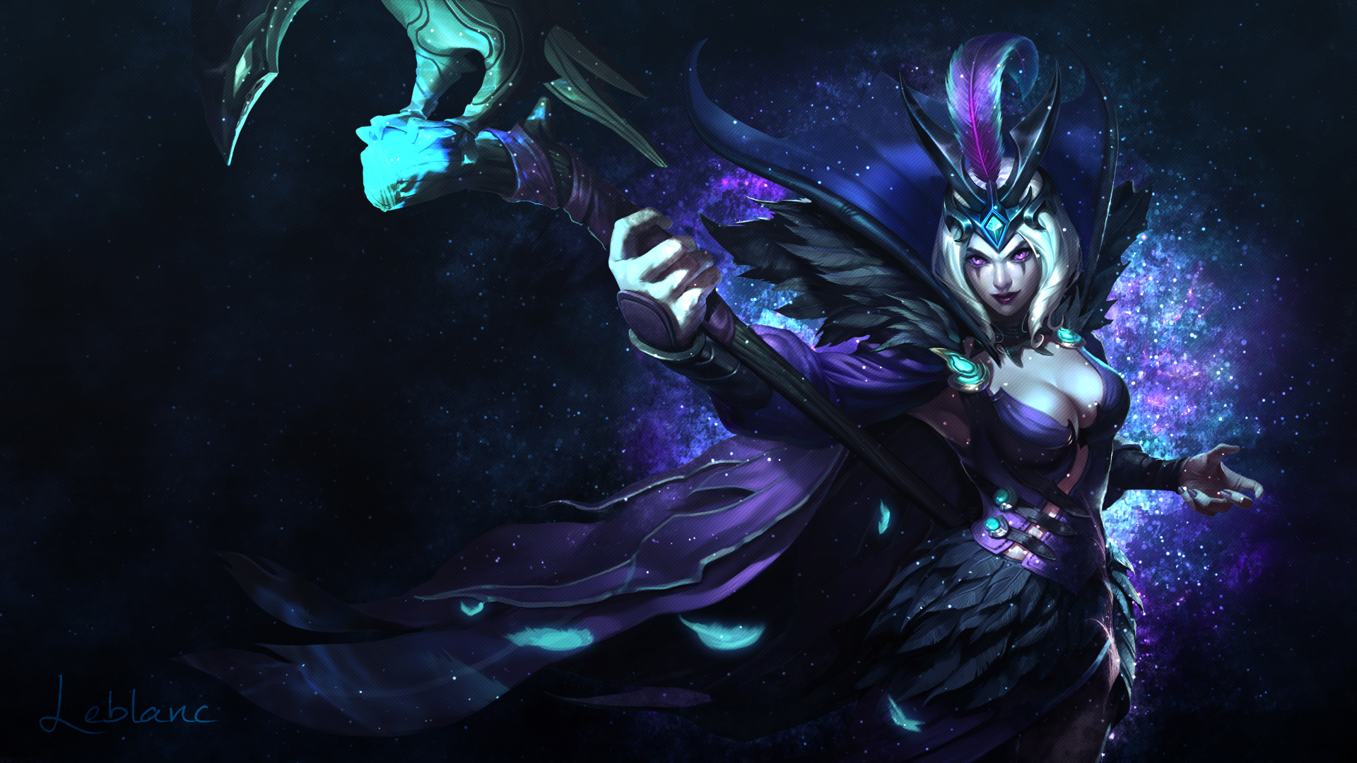 Leblanc lolwallpapers leblanc wallpaper voltagebd Images