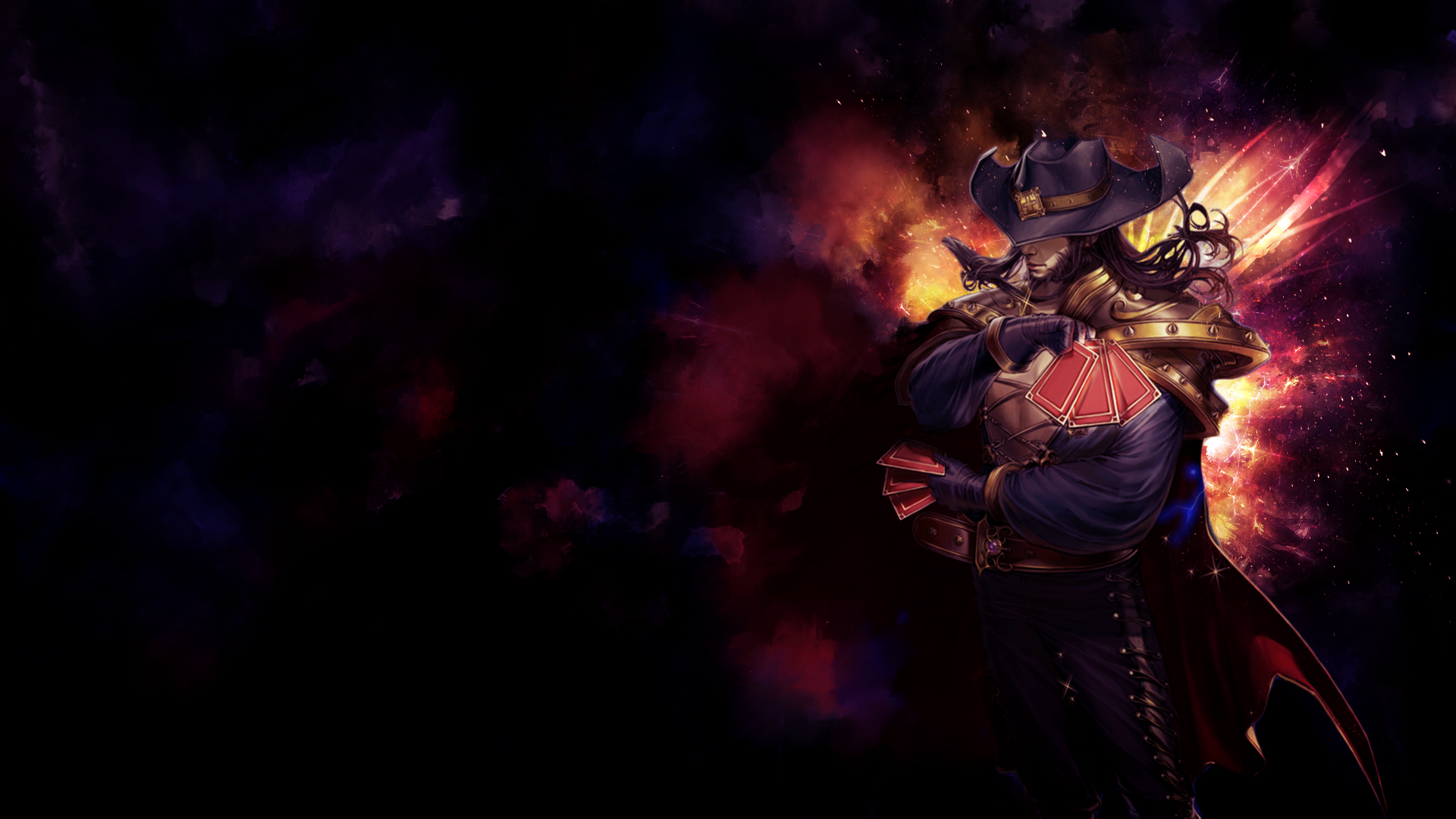twisted fate fan art league of legends wallpapers