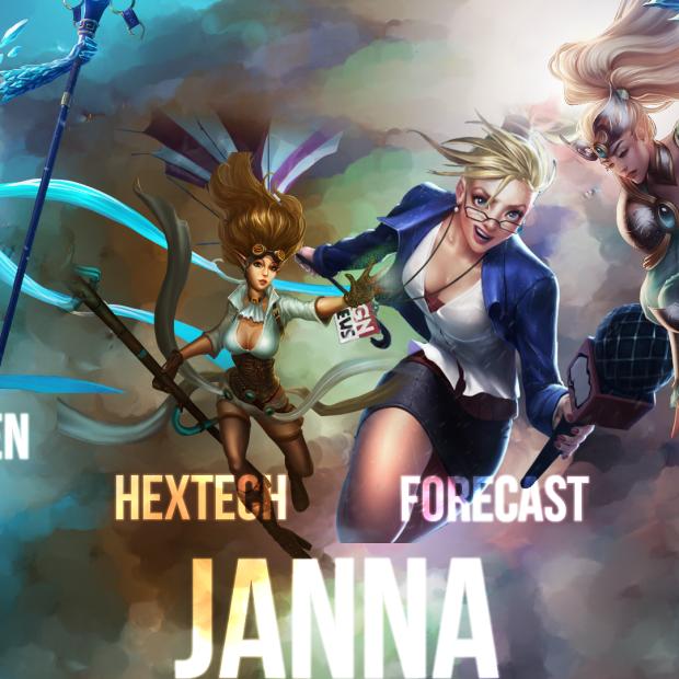 Janna Skins