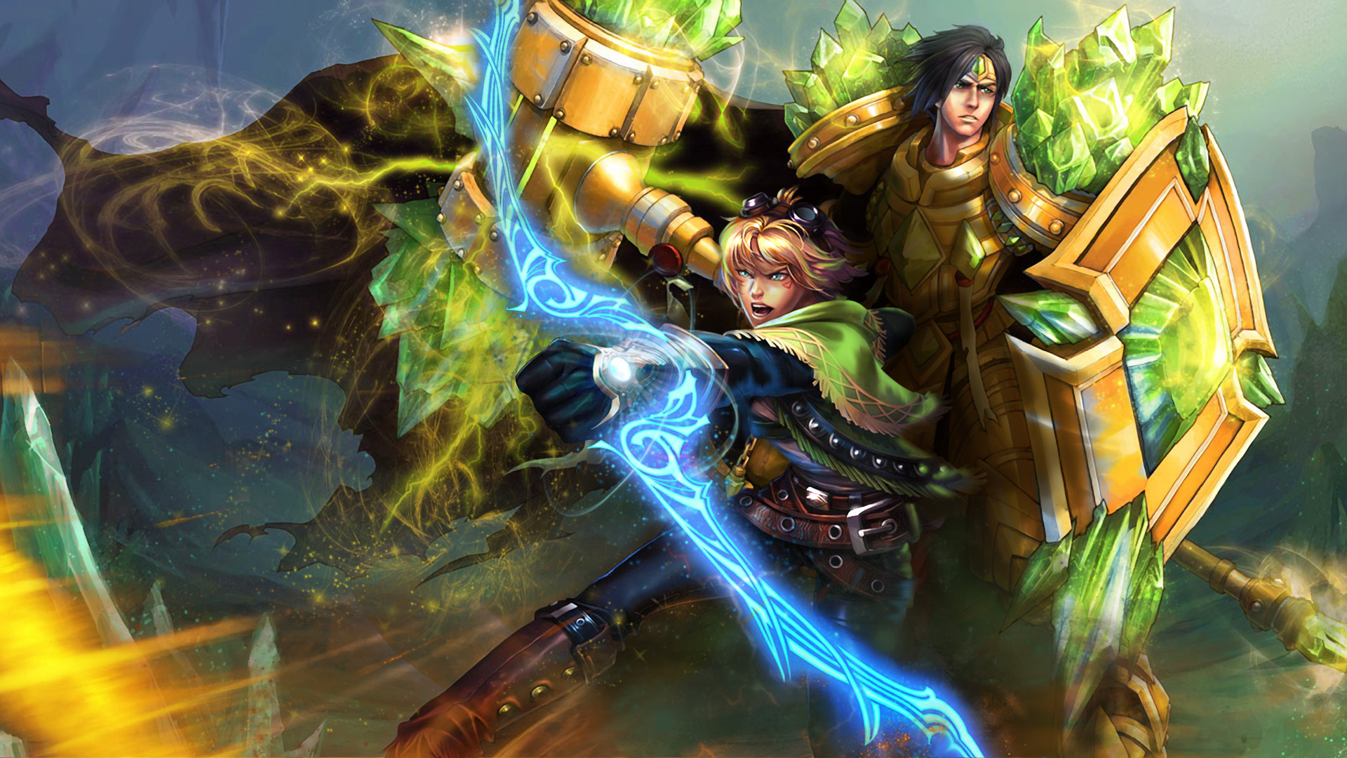 Taric & Ezreal Fan Art - League of Legends Wallpapers
