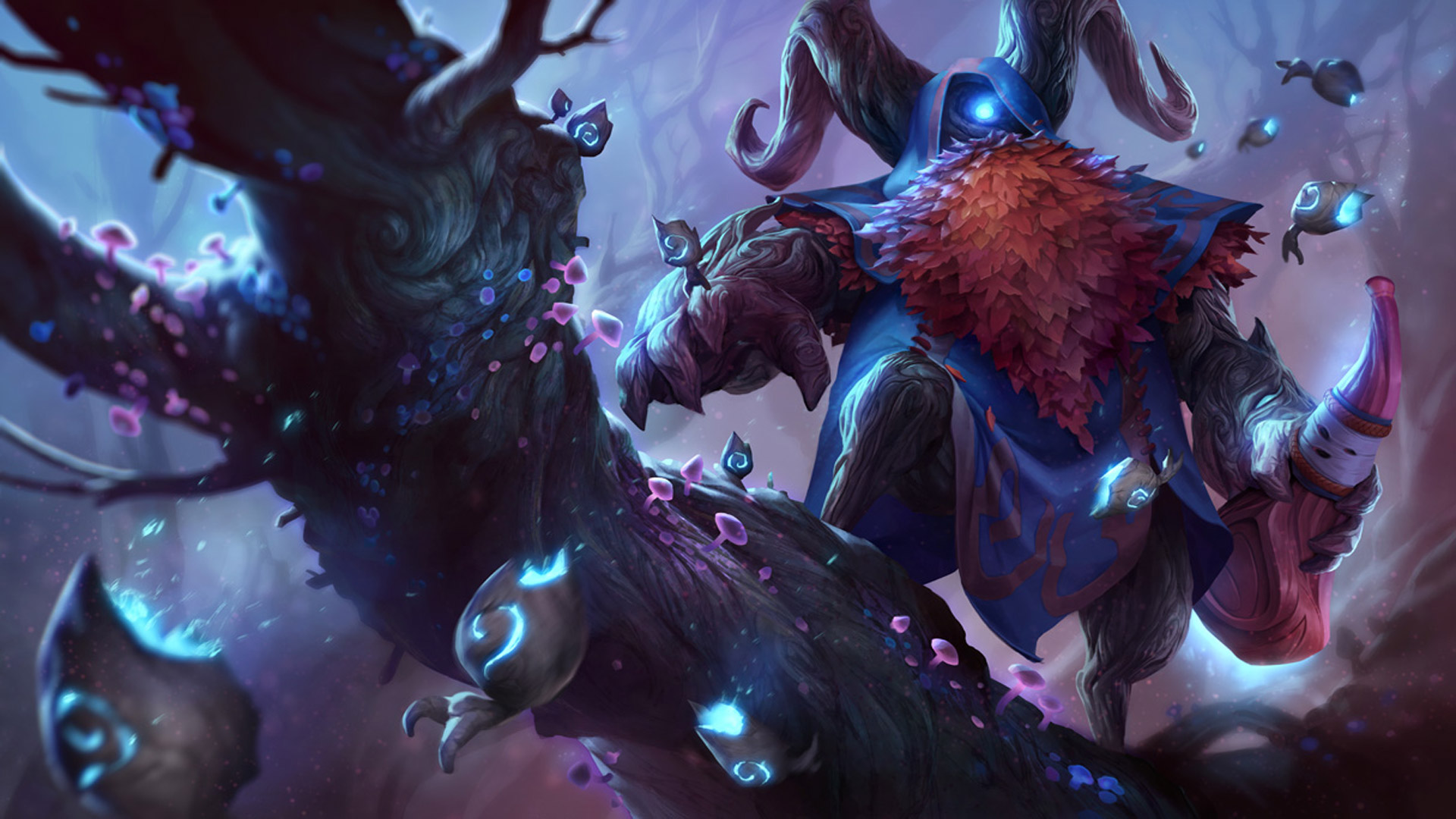 elderwood bard league of legends wallpapers