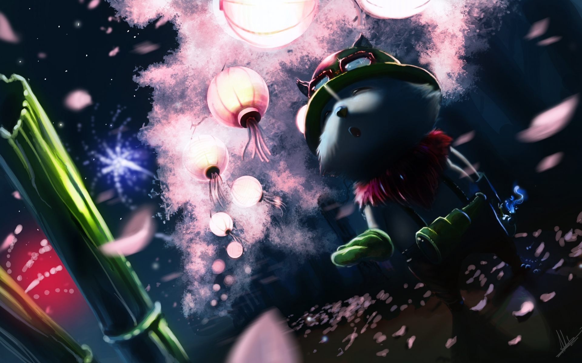 Teemo Fan Art - League of Legends Wallpapers
