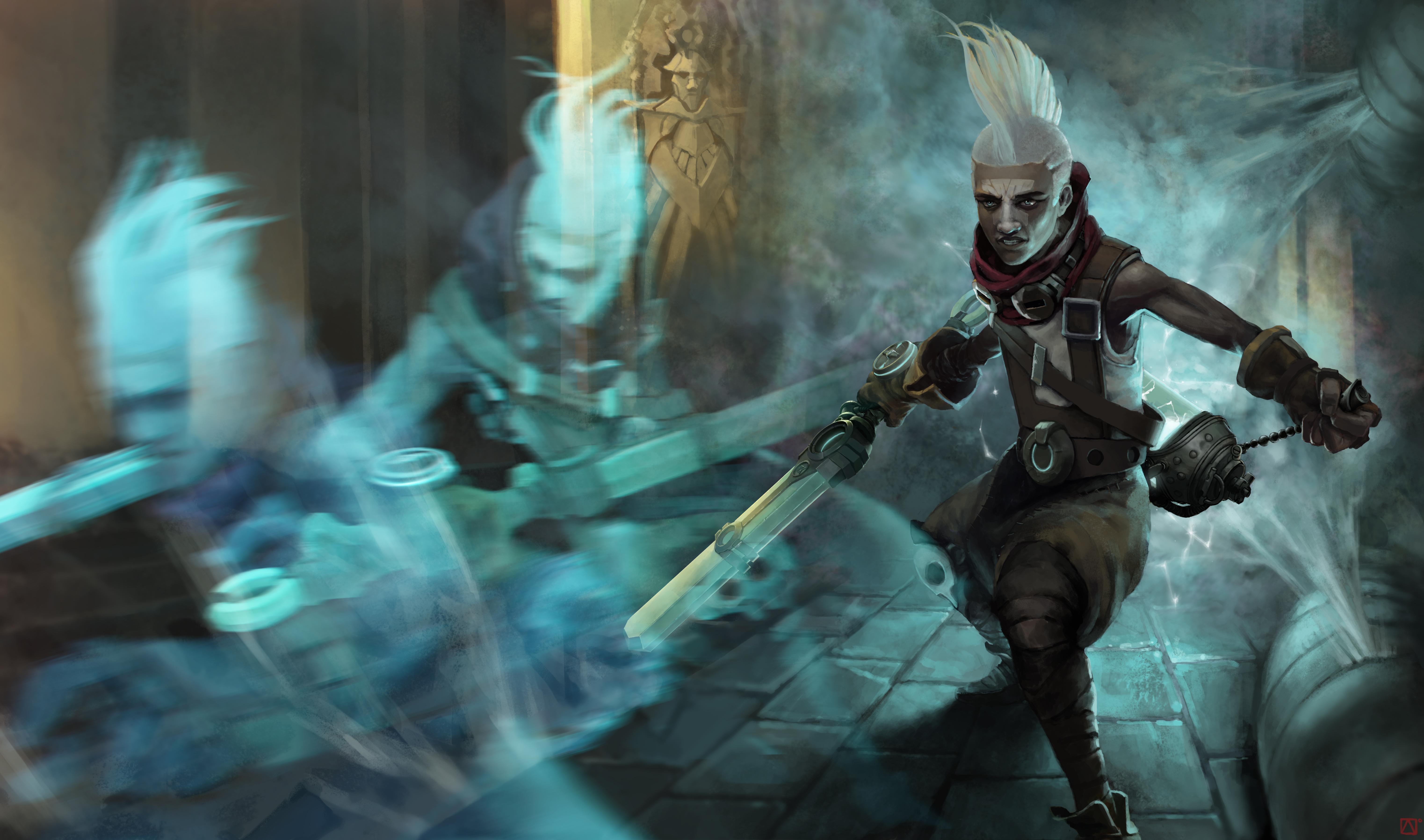 Wallpaper Fan Art 4k Pubattlegrounds: League Of Legends Wallpapers