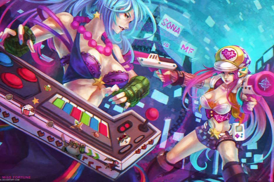 Arcade Sona vs Arcade Miss Fortune
