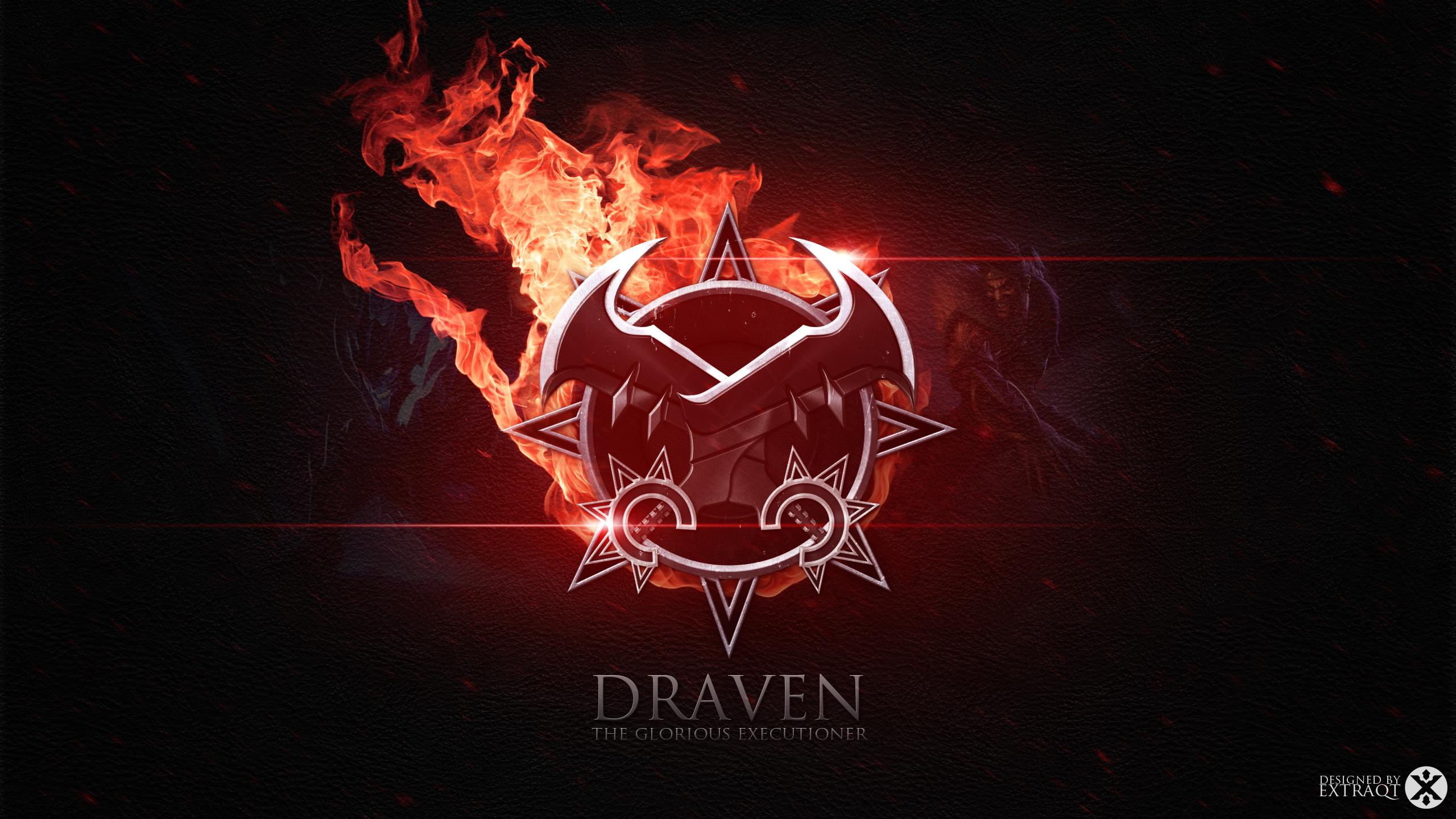 Draven Axe Fan Art - League of Legends Wallpapers