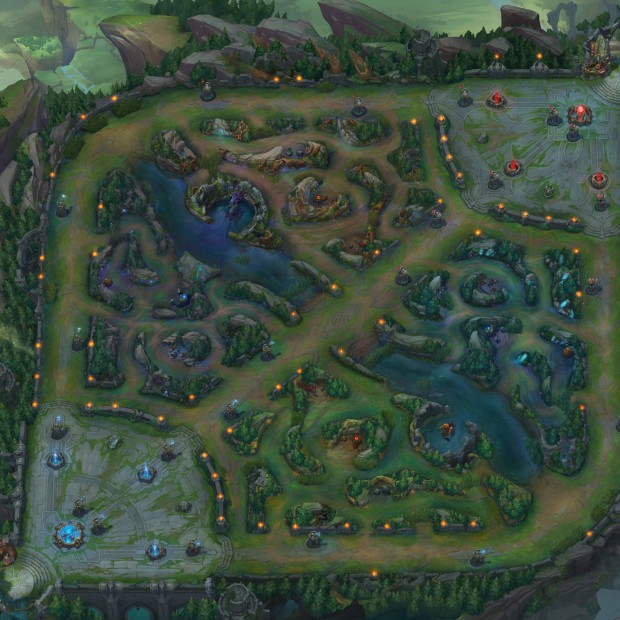 League of Legends Minimap