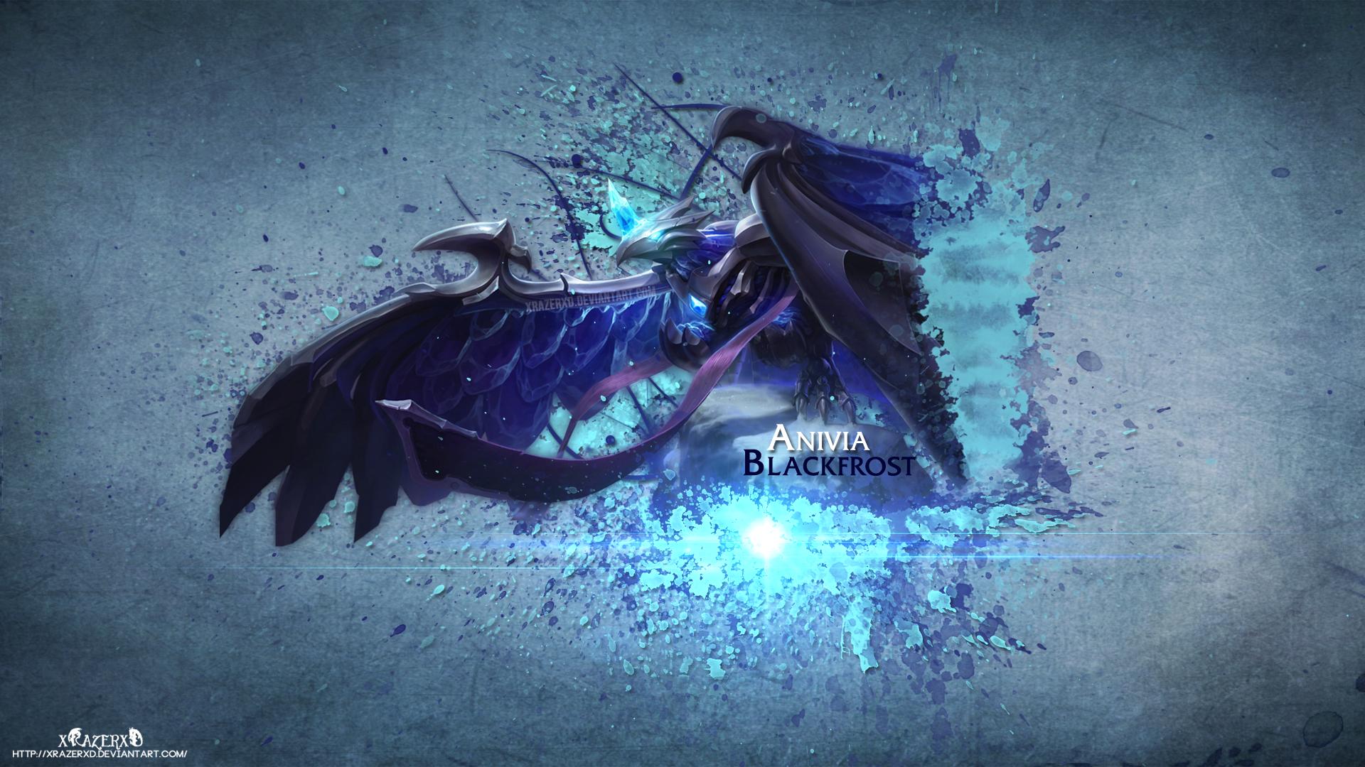 BlackFrost Anivia Fan Art - League of Legends Wallpapers  Blackfrost