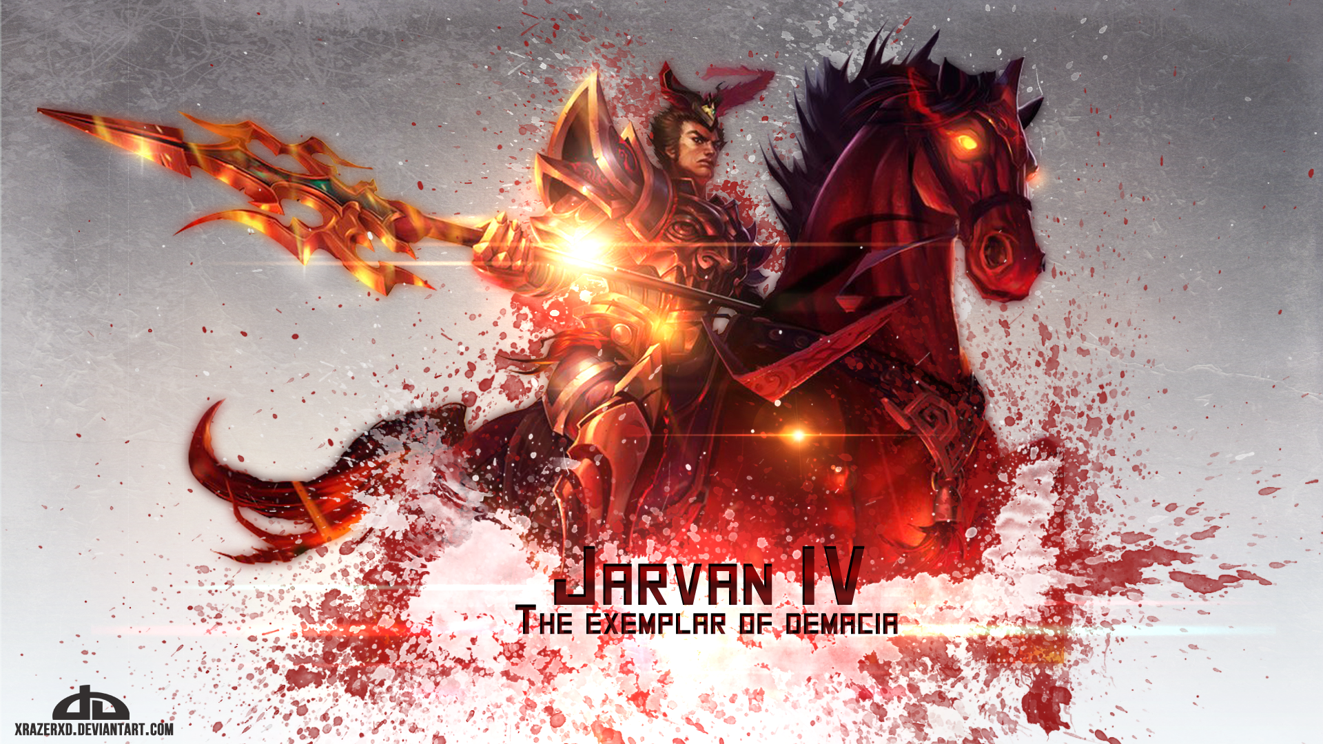 Warring Kingdoms Jarvan IV Fan Art - League of Legends ...