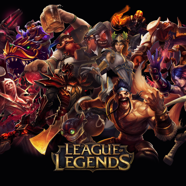 League of Legends Red Wallpaper