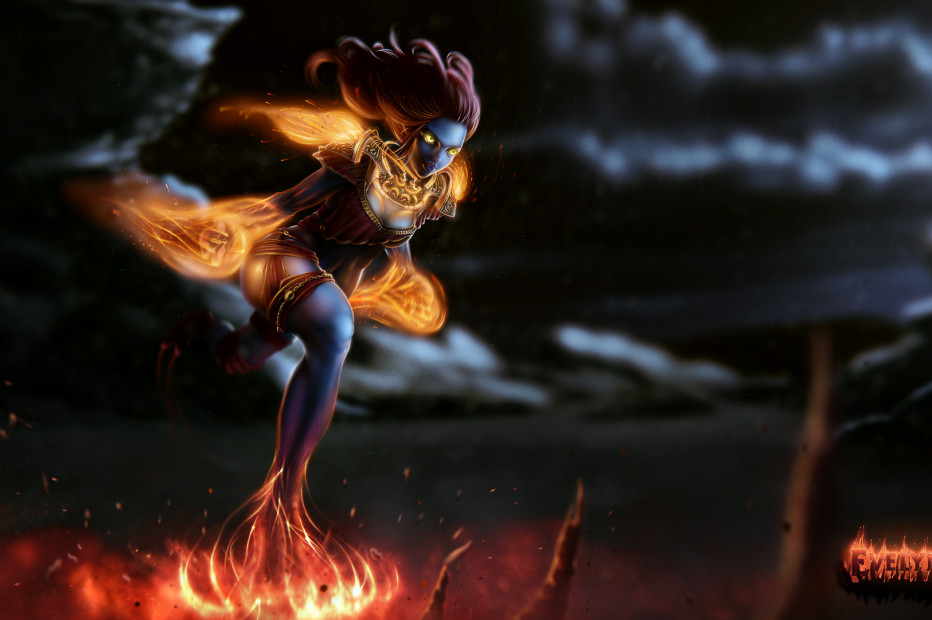 Full-fire Stalker Evelynn