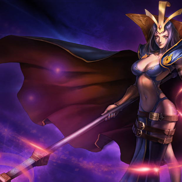Leblanc Classic Skin Chinese Splash Art