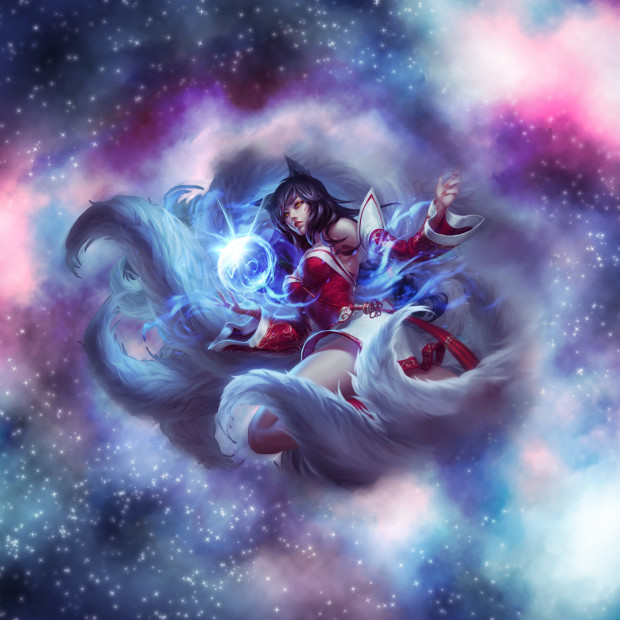 Ahri with stars