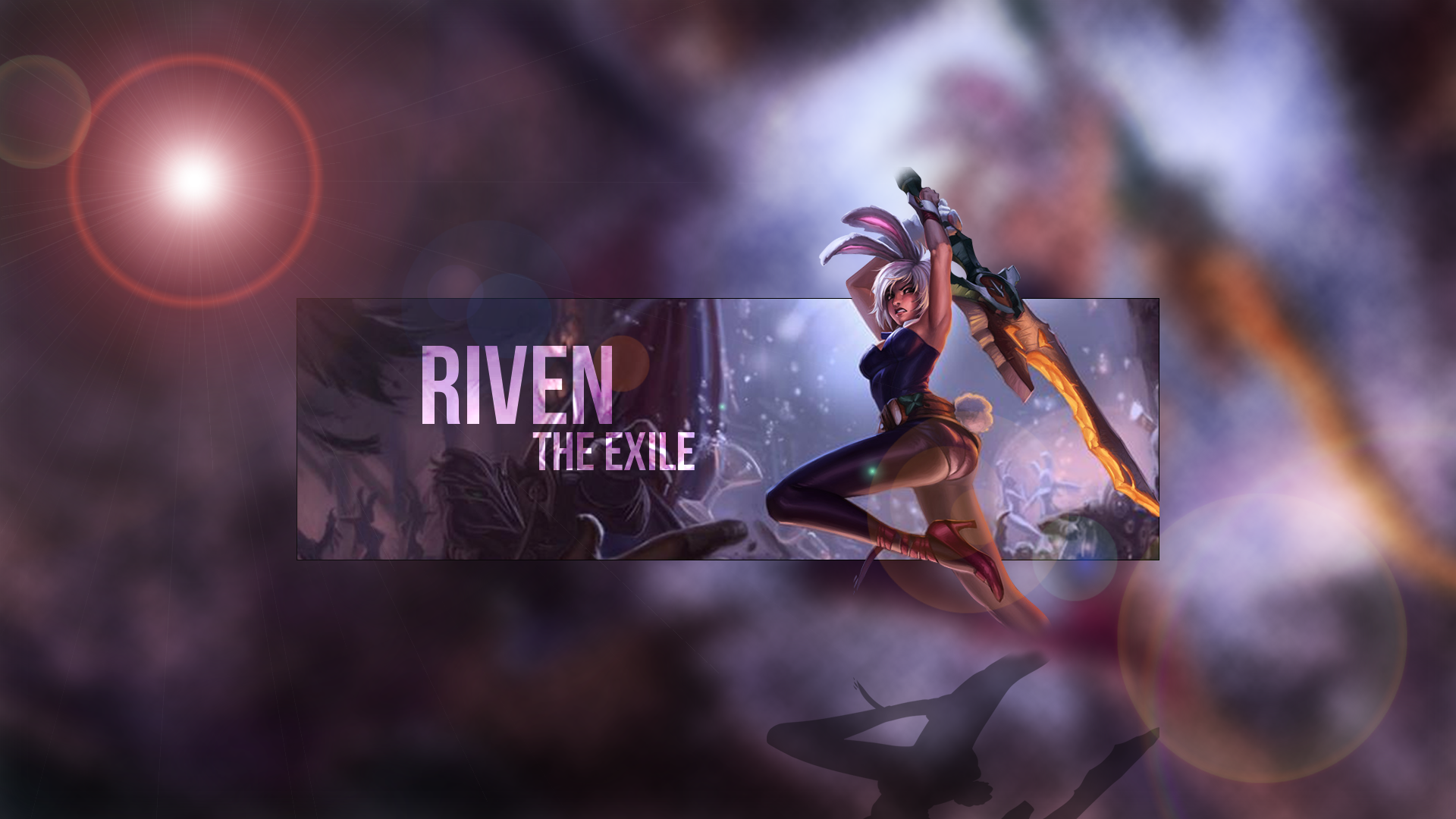 Battle Bunny Riven Fan Art - League of Legends WallpapersBunny Riven Fan Art