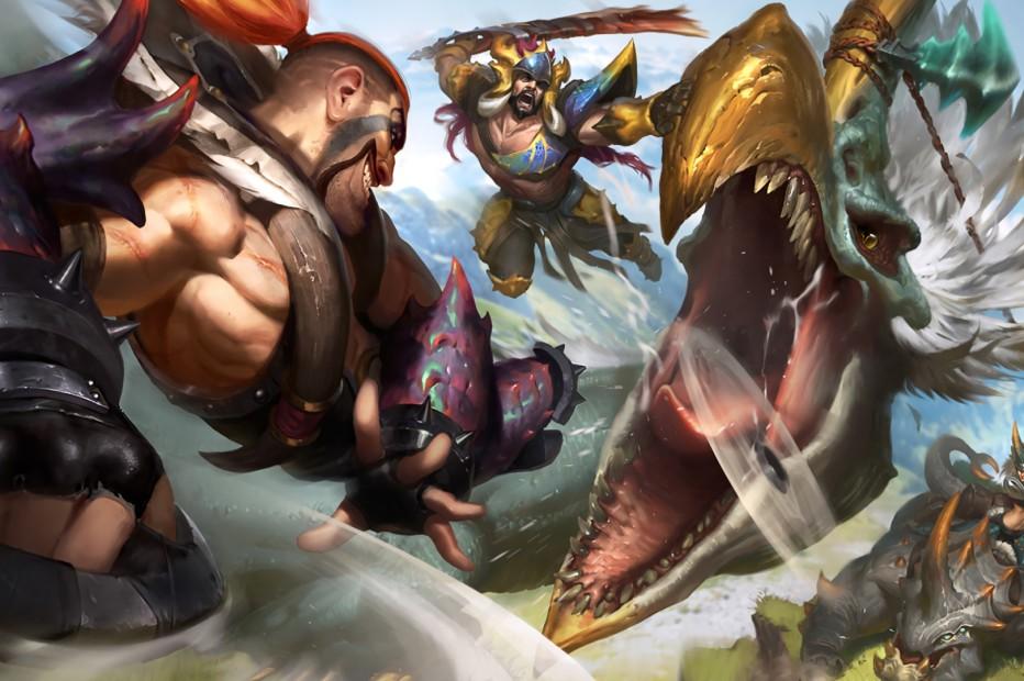 Beast Hunter Draven, Tryndamere & Sejuani