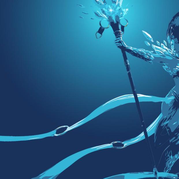 Frost Queen Janna Minimalistic