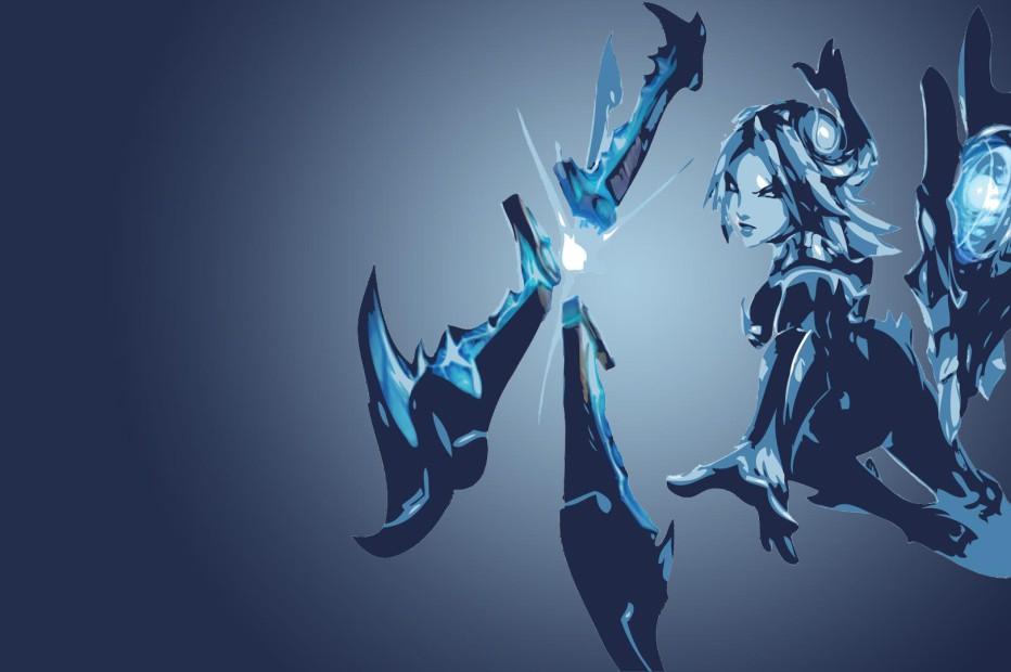 Frostblade Irelia Minimalistic