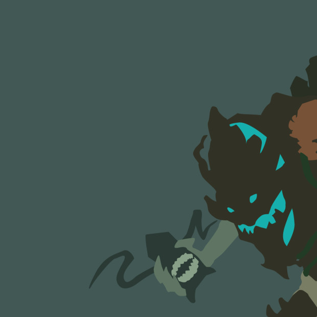 Haunted Maokai Minimalistic