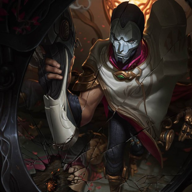 Jhin Splah Art